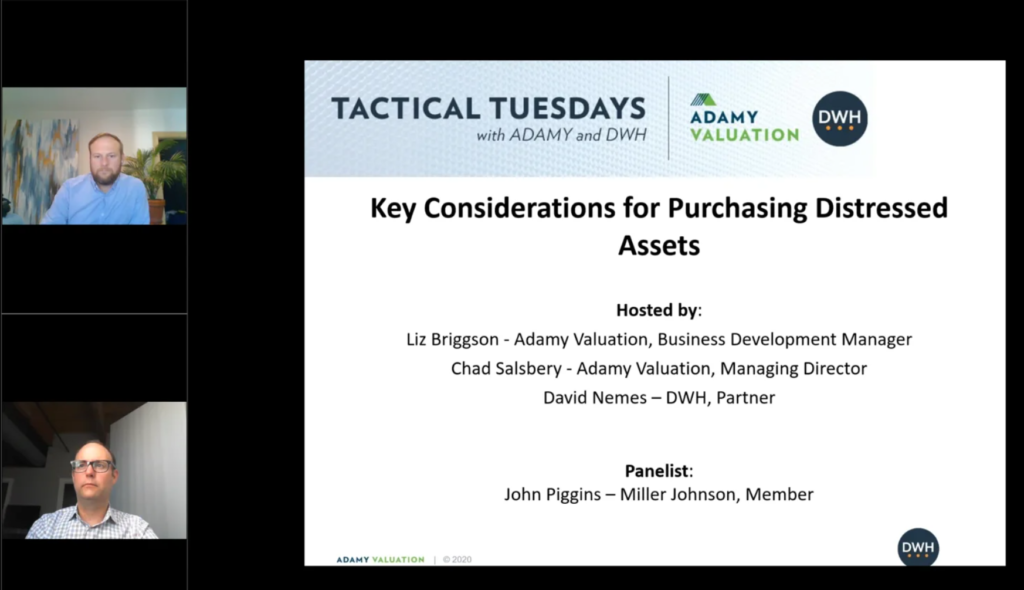 Key Considerations for Purchasing Distressed Assets