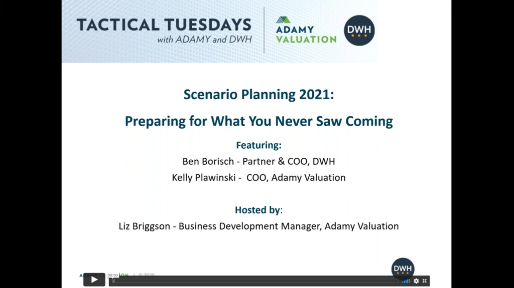 Scenario Planning: Preparing for what You Never Saw Coming
